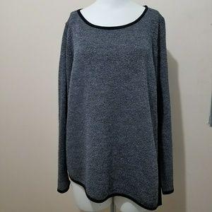 Eileen Fisher Asymmetrical Sweater